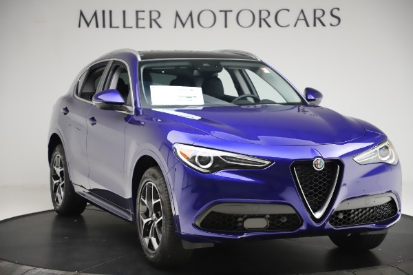 New 2020 Alfa Romeo Stelvio Ti Q4 for sale $50,695 at Maserati of Westport in Westport CT 06880 11