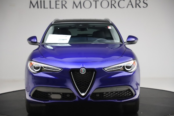 New 2020 Alfa Romeo Stelvio Ti Q4 for sale $50,695 at Maserati of Westport in Westport CT 06880 12