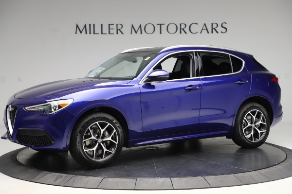 New 2020 Alfa Romeo Stelvio Ti Q4 for sale $50,695 at Maserati of Westport in Westport CT 06880 2