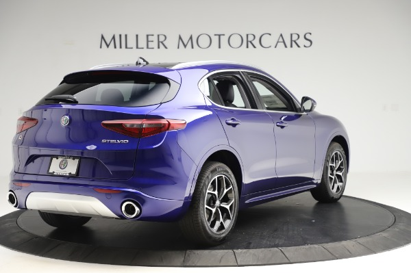 New 2020 Alfa Romeo Stelvio Ti Q4 for sale $50,695 at Maserati of Westport in Westport CT 06880 7