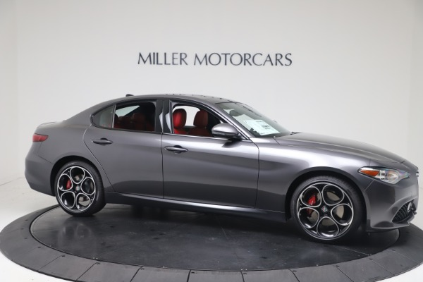 New 2020 Alfa Romeo Giulia Ti Sport Q4 for sale $51,095 at Maserati of Westport in Westport CT 06880 10