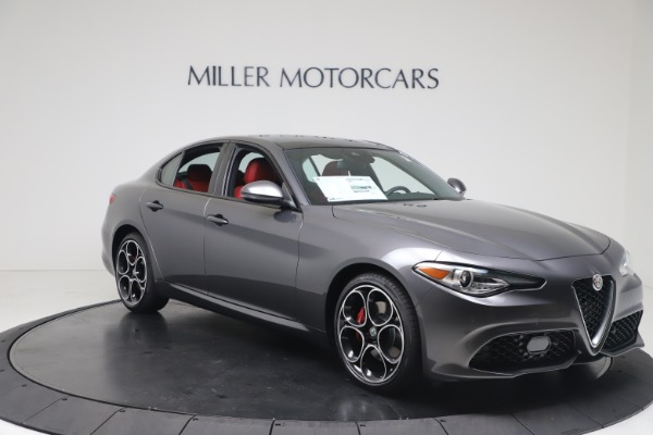 New 2020 Alfa Romeo Giulia Ti Sport Q4 for sale $51,095 at Maserati of Westport in Westport CT 06880 11
