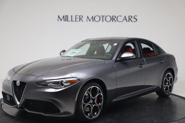 New 2020 Alfa Romeo Giulia Ti Sport Q4 for sale $51,095 at Maserati of Westport in Westport CT 06880 2