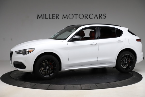 New 2020 Alfa Romeo Stelvio Ti Sport Q4 for sale $54,345 at Maserati of Westport in Westport CT 06880 2