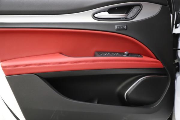 New 2020 Alfa Romeo Stelvio Ti Sport Q4 for sale Sold at Maserati of Westport in Westport CT 06880 20