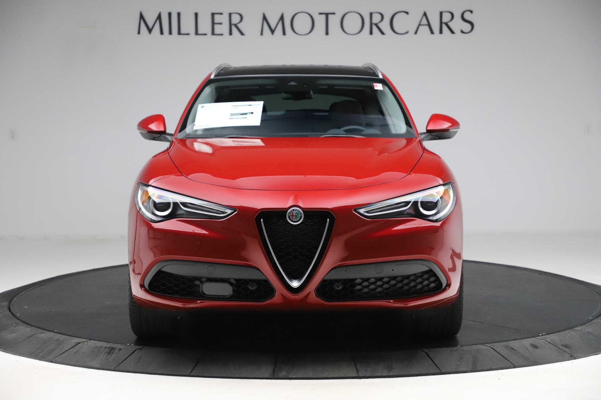 New 2020 Alfa Romeo Stelvio Ti Lusso Q4 for sale $56,495 at Maserati of Westport in Westport CT 06880 1