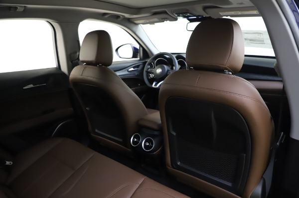New 2020 Alfa Romeo Stelvio Sport Q4 for sale $50,895 at Maserati of Westport in Westport CT 06880 28