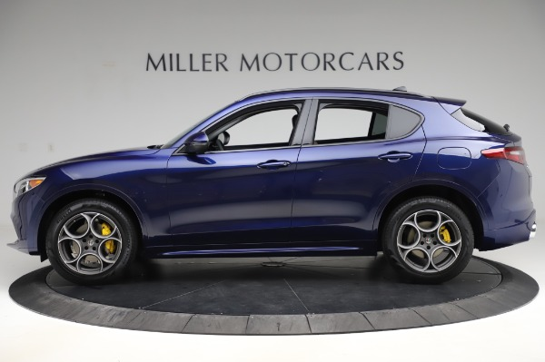 New 2020 Alfa Romeo Stelvio Sport Q4 for sale $50,895 at Maserati of Westport in Westport CT 06880 3