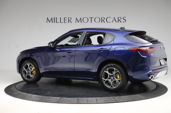 New 2020 Alfa Romeo Stelvio Sport Q4 for sale $50,895 at Maserati of Westport in Westport CT 06880 4