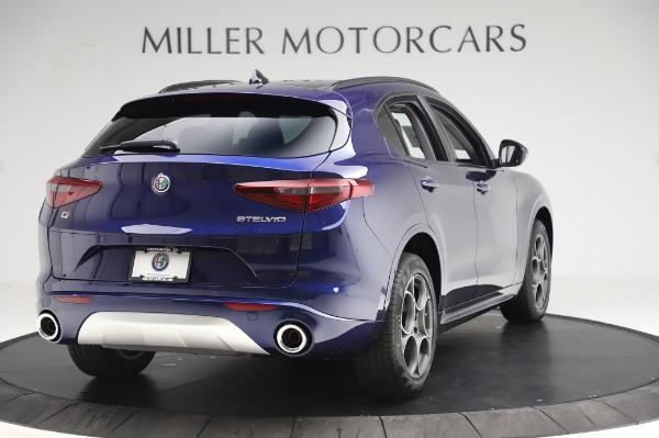 New 2020 Alfa Romeo Stelvio Sport Q4 for sale $50,895 at Maserati of Westport in Westport CT 06880 7