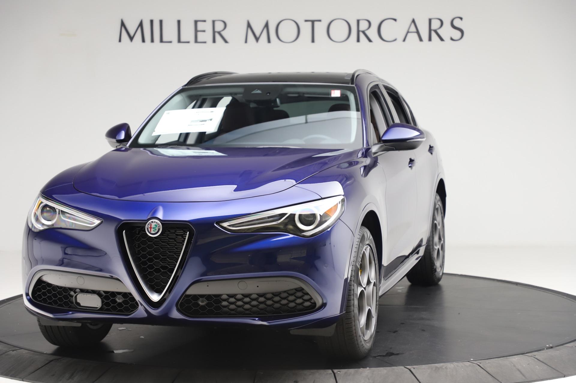 New 2020 Alfa Romeo Stelvio Sport Q4 for sale $50,895 at Maserati of Westport in Westport CT 06880 1