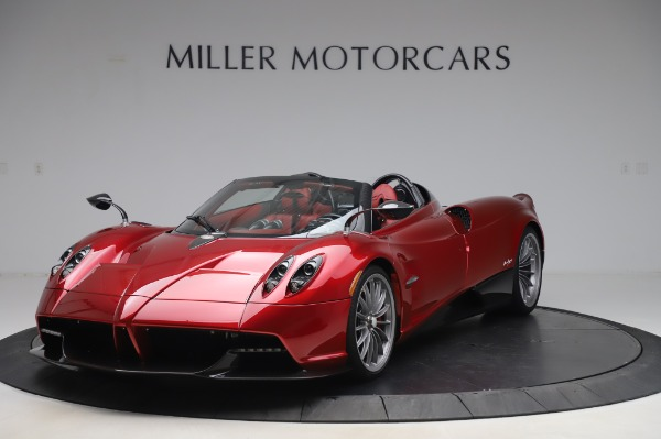 Used 2017 Pagani Huayra Roadster for sale Call for price at Maserati of Westport in Westport CT 06880 2
