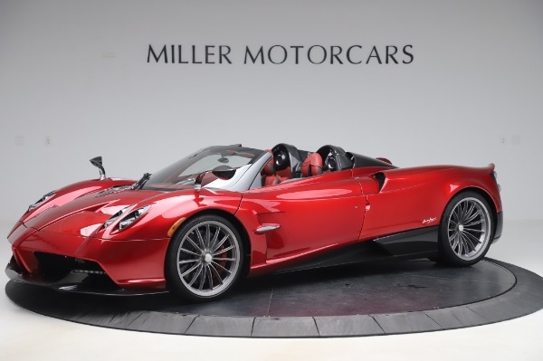Used 2017 Pagani Huayra Roadster for sale Call for price at Maserati of Westport in Westport CT 06880 1