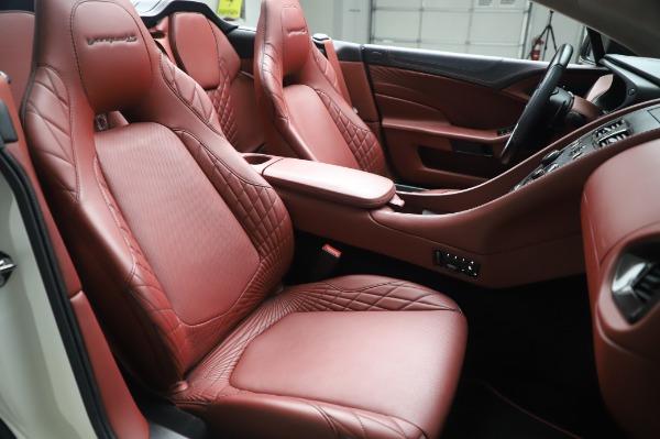 Used 2018 Aston Martin Vanquish S Volante for sale $179,900 at Maserati of Westport in Westport CT 06880 21