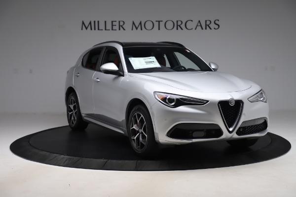 New 2020 Alfa Romeo Stelvio Ti Sport Q4 for sale $53,545 at Maserati of Westport in Westport CT 06880 11