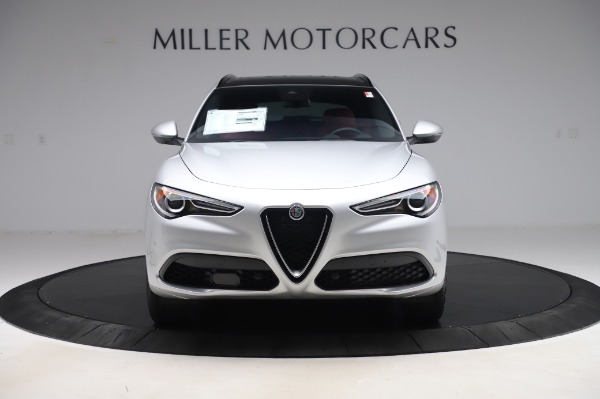 New 2020 Alfa Romeo Stelvio Ti Sport Q4 for sale $53,545 at Maserati of Westport in Westport CT 06880 12