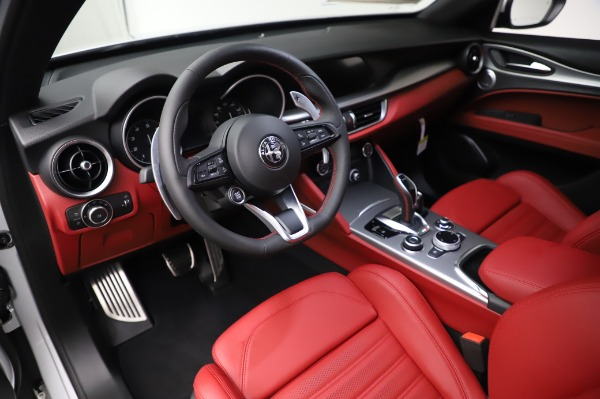 New 2020 Alfa Romeo Stelvio Ti Sport Q4 for sale $53,545 at Maserati of Westport in Westport CT 06880 13