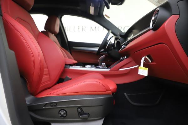 New 2020 Alfa Romeo Stelvio Ti Sport Q4 for sale $53,545 at Maserati of Westport in Westport CT 06880 22