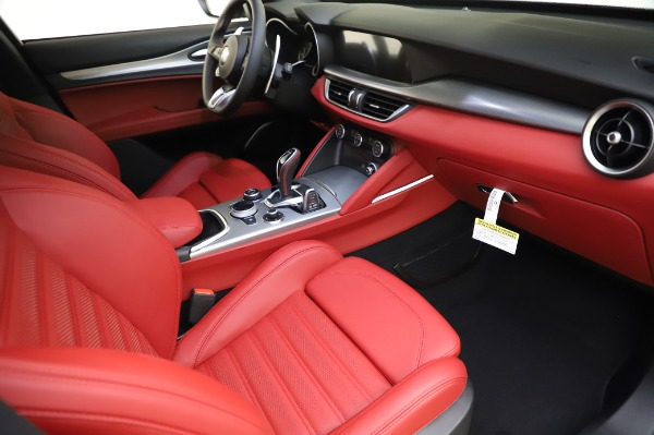 New 2020 Alfa Romeo Stelvio Ti Sport Q4 for sale $53,545 at Maserati of Westport in Westport CT 06880 23