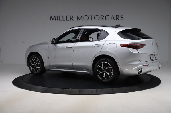 New 2020 Alfa Romeo Stelvio Ti Sport Q4 for sale $53,545 at Maserati of Westport in Westport CT 06880 4