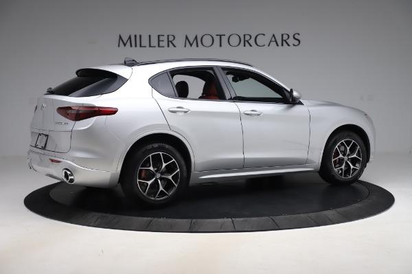 New 2020 Alfa Romeo Stelvio Ti Sport Q4 for sale $53,545 at Maserati of Westport in Westport CT 06880 8