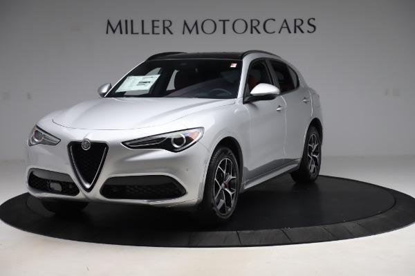 New 2020 Alfa Romeo Stelvio Ti Sport Q4 for sale $53,545 at Maserati of Westport in Westport CT 06880 1