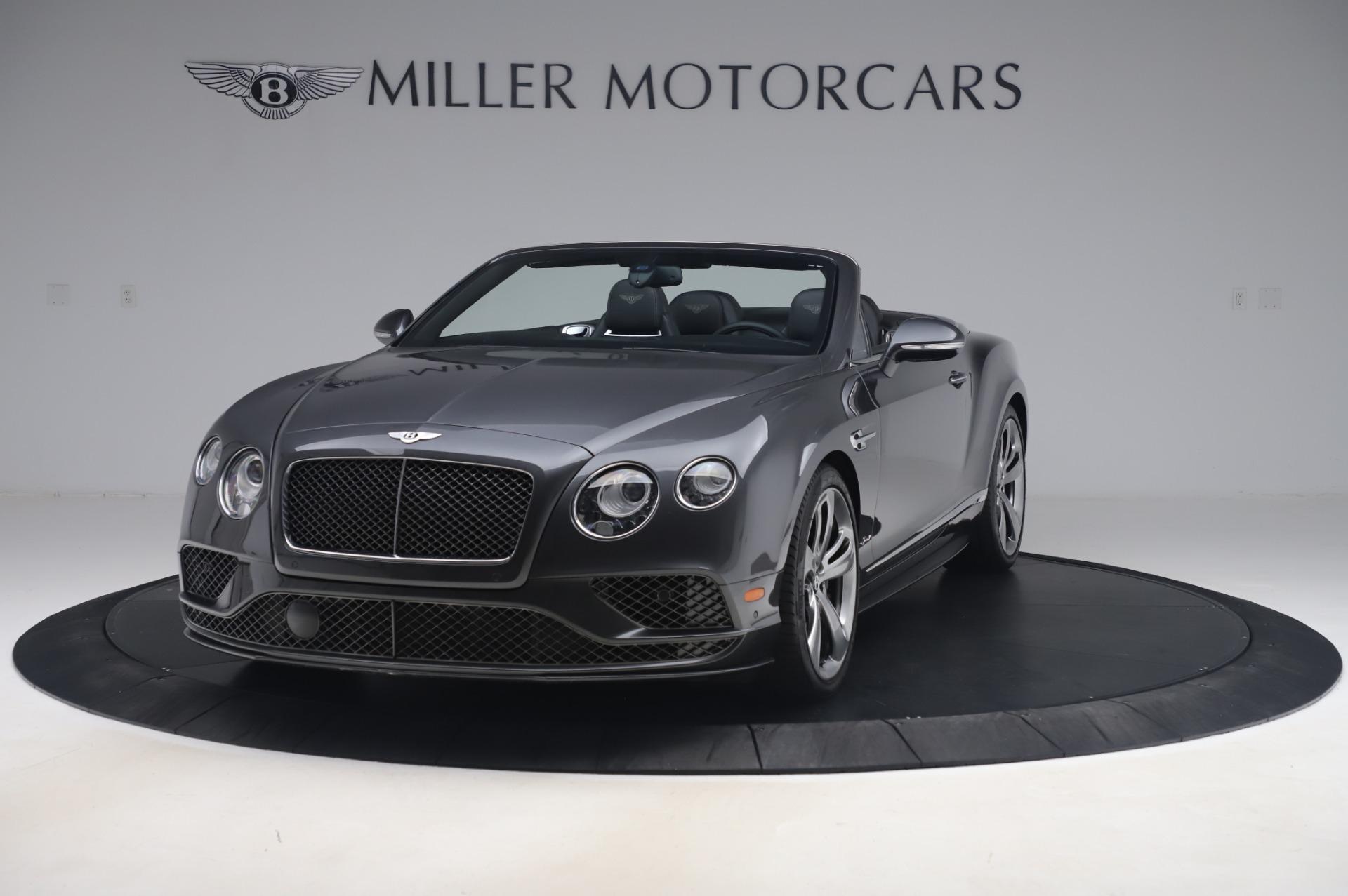 Used 2016 Bentley Continental GT Speed for sale $139,900 at Maserati of Westport in Westport CT 06880 1