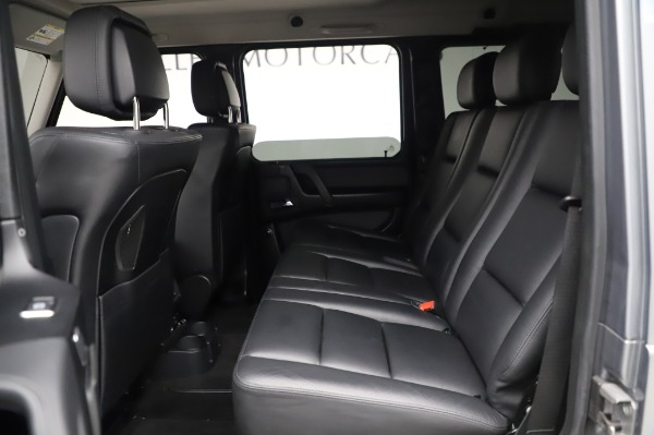 Used 2017 Mercedes-Benz G-Class G 550 for sale Sold at Maserati of Westport in Westport CT 06880 17