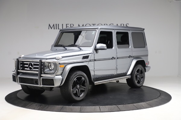 Used 2017 Mercedes-Benz G-Class G 550 for sale Sold at Maserati of Westport in Westport CT 06880 2