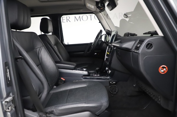 Used 2017 Mercedes-Benz G-Class G 550 for sale Sold at Maserati of Westport in Westport CT 06880 20