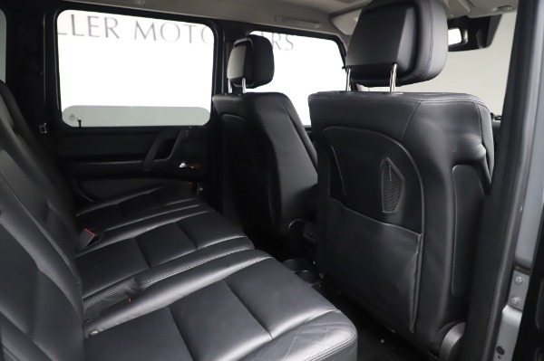 Used 2017 Mercedes-Benz G-Class G 550 for sale Sold at Maserati of Westport in Westport CT 06880 22