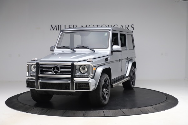 Used 2017 Mercedes-Benz G-Class G 550 for sale Sold at Maserati of Westport in Westport CT 06880 1