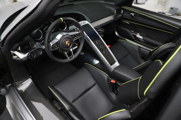 Used 2015 Porsche 918 Spyder for sale $1,389,900 at Maserati of Westport in Westport CT 06880 22
