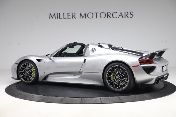 Used 2015 Porsche 918 Spyder for sale $1,389,900 at Maserati of Westport in Westport CT 06880 4