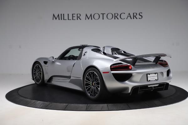 Used 2015 Porsche 918 Spyder for sale $1,389,900 at Maserati of Westport in Westport CT 06880 5