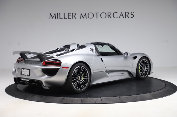 Used 2015 Porsche 918 Spyder for sale $1,389,900 at Maserati of Westport in Westport CT 06880 8
