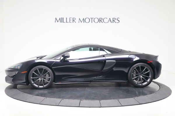 Used 2019 McLaren 570S Spider for sale Call for price at Maserati of Westport in Westport CT 06880 11