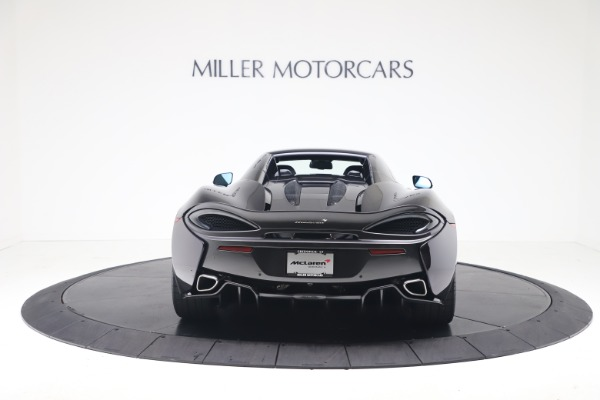 Used 2019 McLaren 570S Spider for sale Call for price at Maserati of Westport in Westport CT 06880 13