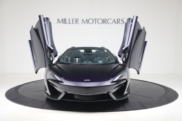 Used 2019 McLaren 570S Spider for sale Call for price at Maserati of Westport in Westport CT 06880 17