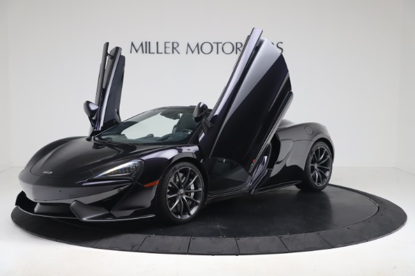 Used 2019 McLaren 570S Spider for sale Call for price at Maserati of Westport in Westport CT 06880 18