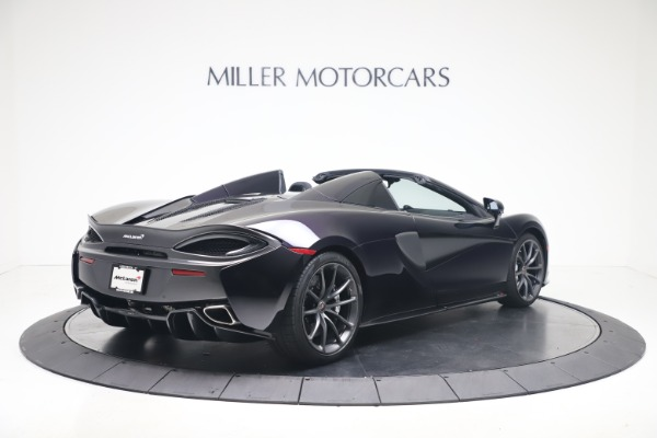 Used 2019 McLaren 570S Spider for sale Call for price at Maserati of Westport in Westport CT 06880 5