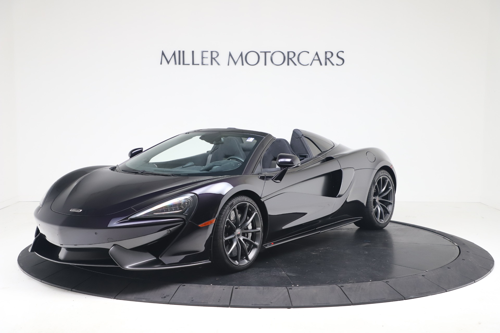 Used 2019 McLaren 570S Spider for sale Call for price at Maserati of Westport in Westport CT 06880 1