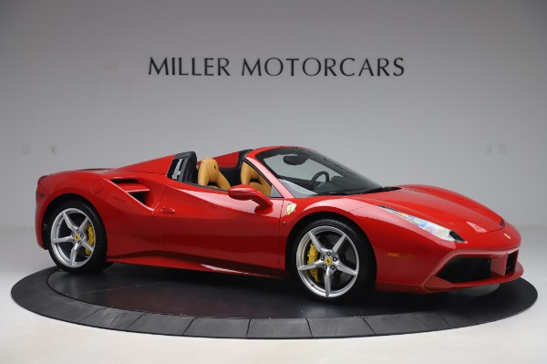 Used 2018 Ferrari 488 Spider Base for sale $289,900 at Maserati of Westport in Westport CT 06880 10