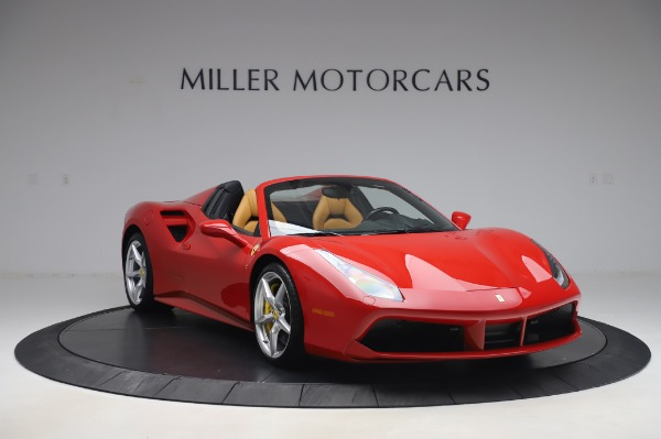 Used 2018 Ferrari 488 Spider Base for sale $289,900 at Maserati of Westport in Westport CT 06880 11