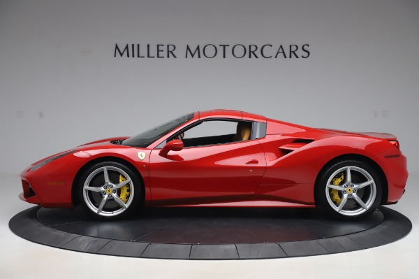 Used 2018 Ferrari 488 Spider Base for sale $289,900 at Maserati of Westport in Westport CT 06880 13