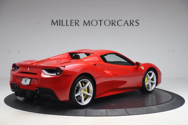 Used 2018 Ferrari 488 Spider Base for sale $289,900 at Maserati of Westport in Westport CT 06880 15