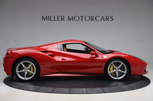 Used 2018 Ferrari 488 Spider Base for sale $289,900 at Maserati of Westport in Westport CT 06880 16