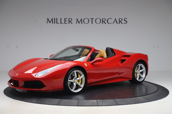 Used 2018 Ferrari 488 Spider Base for sale $289,900 at Maserati of Westport in Westport CT 06880 2