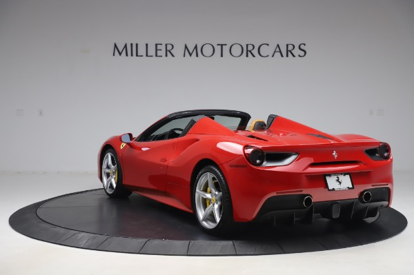 Used 2018 Ferrari 488 Spider Base for sale $289,900 at Maserati of Westport in Westport CT 06880 5