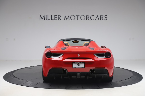 Used 2018 Ferrari 488 Spider Base for sale $289,900 at Maserati of Westport in Westport CT 06880 6
